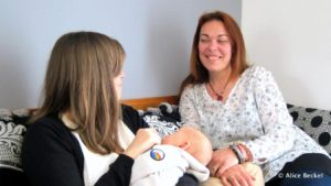 Aux petits soins avec les mamans, rencontre avec la seule doula de la Marne
