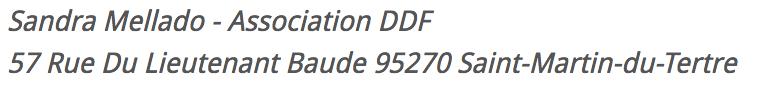 Adhésion DDF
