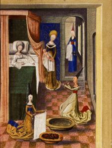 Doula Moyen-Âge