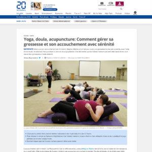 20 minutes doula yoga