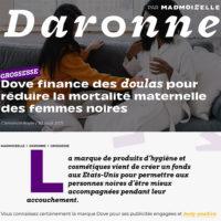 Madmoizelle Dove doulas pour réduire la mortalité maternelle femmes noires